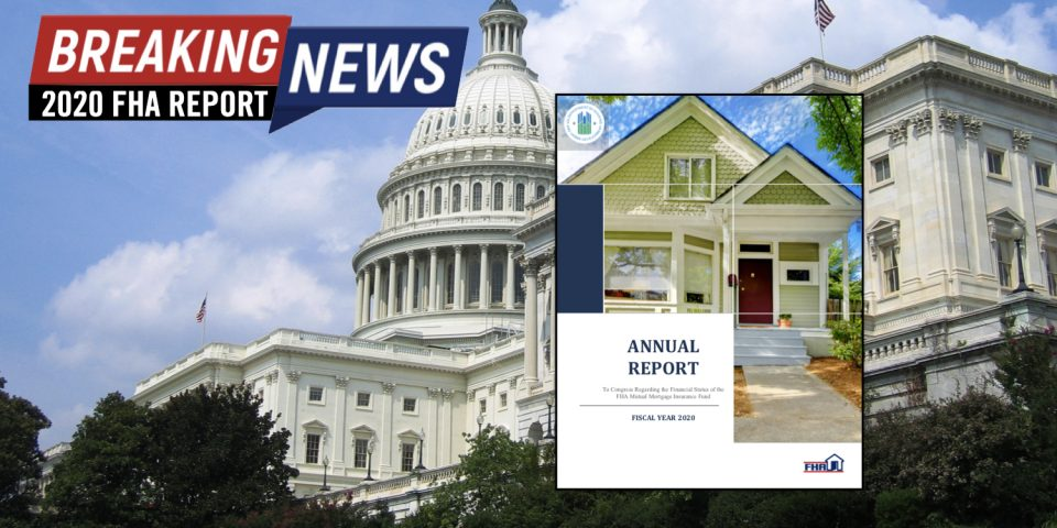 reverse mortgage news FHA annual report