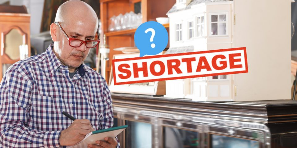 is there an appraiser shortage?